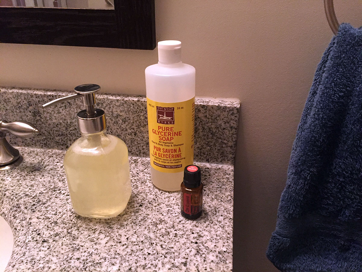 Super easy, cheap antibacterial hand soap