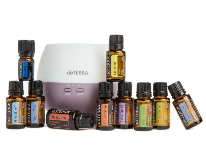 Photo of essential oils kit